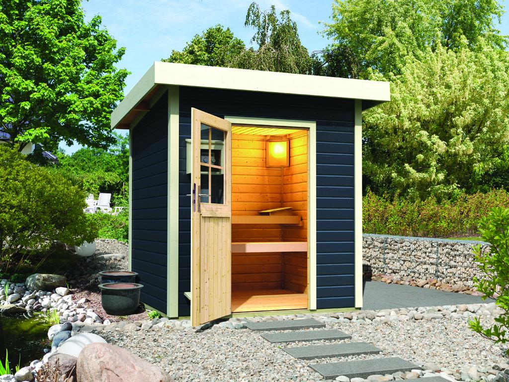 karibu saunen g nstig online kaufen bei gamoni. Black Bedroom Furniture Sets. Home Design Ideas