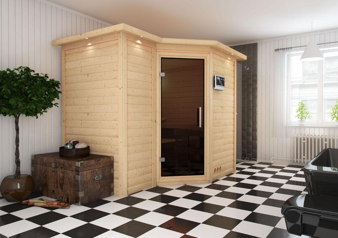 karibu 40 mm massiv sauna sahib 2 in verschiedenen. Black Bedroom Furniture Sets. Home Design Ideas